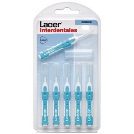 Lacer cepillo interdental conico recto 6 unidades