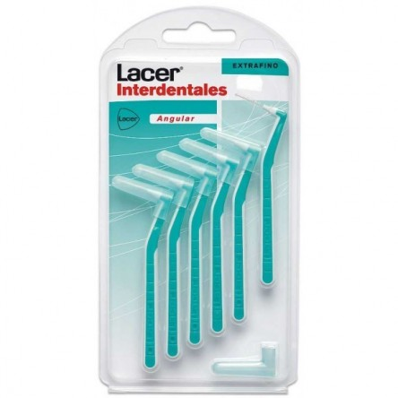 Lacer cepillo interdental extrafino angular 6 unidades