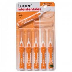 Lacer cepillo interdental extrafino suave recto 6 unidades