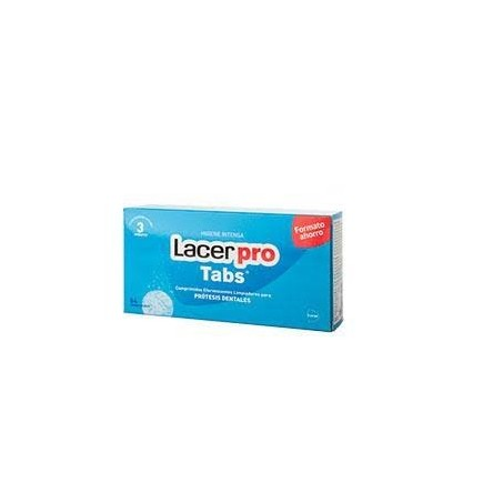 Lacer protabs comprimidos limpieza protesis dental 64 comprimidos