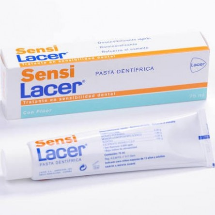 Lacer sensilacer pasta dental 75 ml.