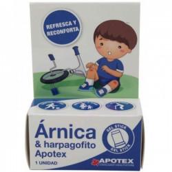 Apotex harpagofito y arnica gel stick 4.5 g golpes niño