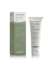 Mandelac sesderma scrub exfoliante cara y cuerpo pieles sensibles 50 ml