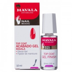 Mavala acabado gel top coay fijador transparente 10ml