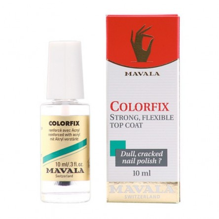 Mavala colorfix fijador brillante transparente 10ml