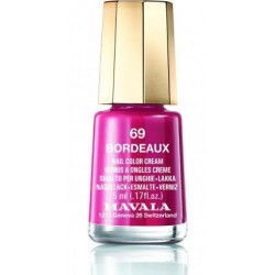 Mavala laca uñas bordeaux color 69 de 5 ml