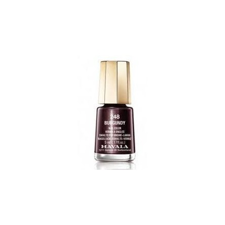 Mavala laca uñas burgundy color 248 de 5 ml