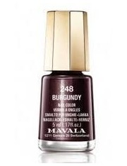 Mavala laca uñas burgundy color 248 de 5 ml