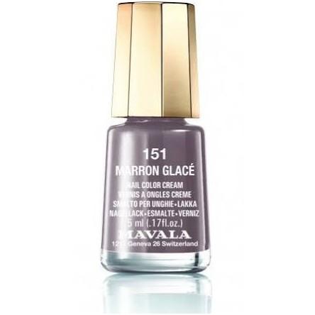 Mavala laca uñas marron glaçe color 151 de 5 ml