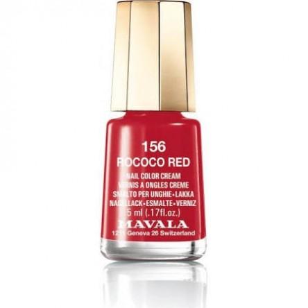 Mavala laca uñas rococo red color 156 de 5 ml