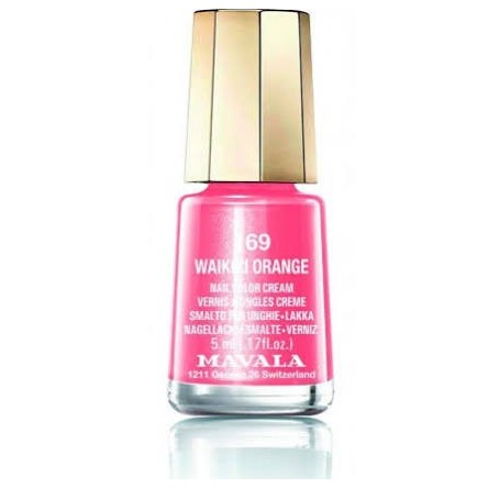 Mavala laca uñas waikiki orange color 169 de 5 ml