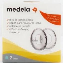 Medela copas de recogida de leche 2 unidades
