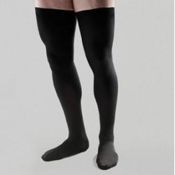 Media caballero larga compres normal farmalastic negro t-g (tobillo24-25cm,pantorrilla37-39cm) cinfa 1 par