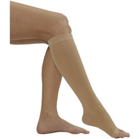 Media corta (a-d) compresion normal medilast beige hasta la rodilla referencia 892 t-grande