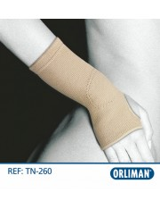 Muñequera orliman elastica tn-260 talla/2