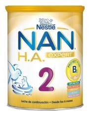 Nan 2 expert excel leche lactantes continuacion hipoalergenica ha 800 g