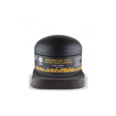 Natura siberica krous jabón negro nordico detox limpieza facial 120 g