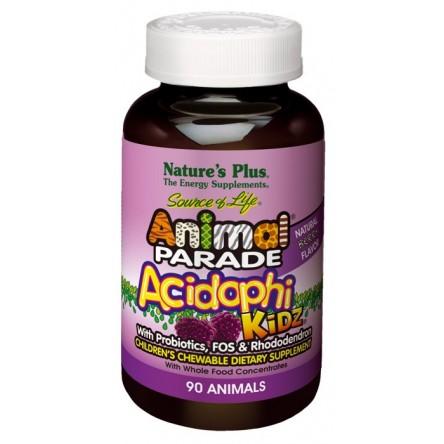 Nature´s plus animal parade acidophikidz probioticos 90 comprimidos masticables
