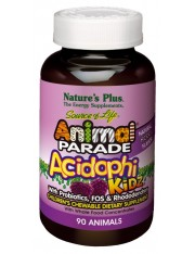 Nature´s plus animal parade acidophikidz probioticos 90 comprimidos masticables