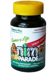 Nature´s plus animal parade multivitaminico cereza 60 comprimidos masticables
