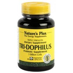 Nature´s plus tri-dophilus probioticos 60 capsulas