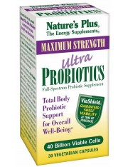 Nature´s plus ultra probiotics 30 capsulas