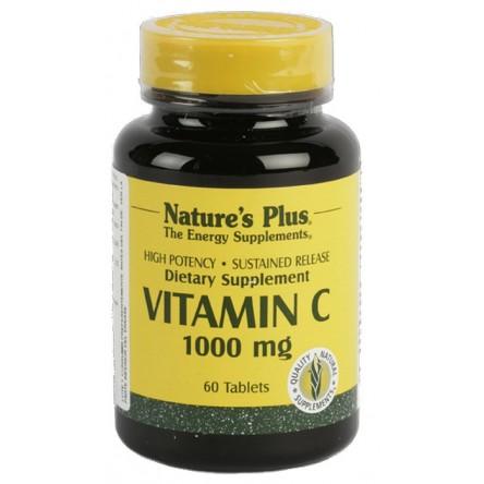 Nature´s plus vitamina c 1000 mg 60 comprimidos