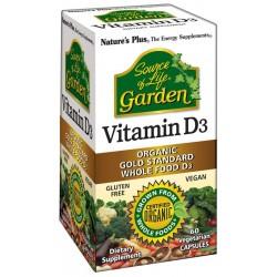 Nature´s plus vitamina d3 garden 60 comprimidos