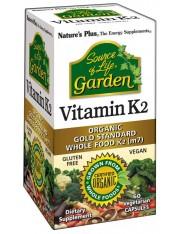 Nature´s plus vitamina k2 garden 60 comprimidos