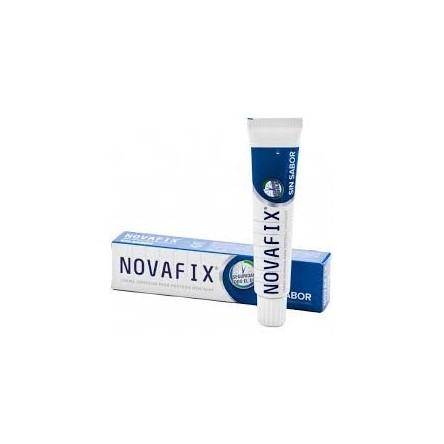 Novafix ultra fuerte adhesivo protesis dental sin sabor 50 g