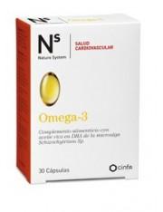 Ns omega 3 30 capsulas cinfa