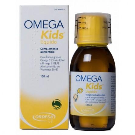 Omega kids liquido niños mayores de 5 años 100 ml