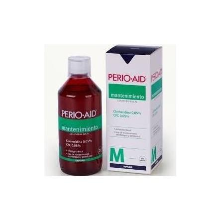 Perio aid colutorio mantenimiento 500 ml.