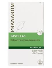 Pranarom quimiotipado aromaforce 21 pastillas calmantes y suavizantes de la garganta + 6 años