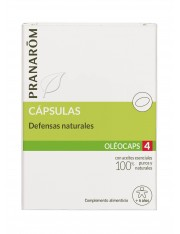 Pranarom quimiotipado oleocaps 4 defensas naturales + 6 años 30 capsulas