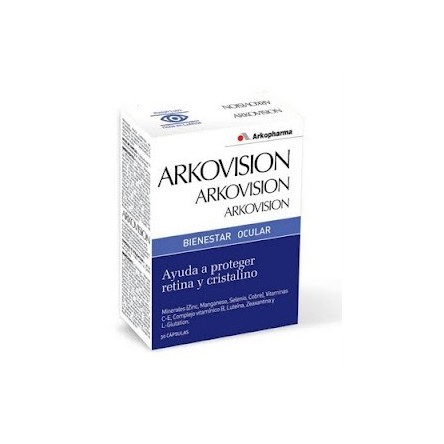 Arkovision bienestar ocular 30 capsulas arkopharma