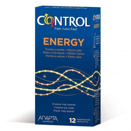Preservativos control adapta energy 12 unidades