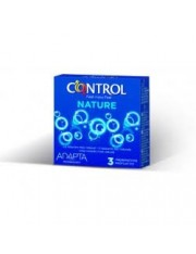 Preservativos control adapta nature 3 unidades