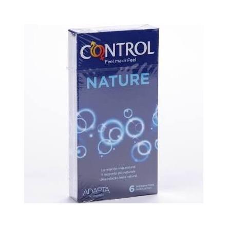 Preservativos control adapta nature 6 unidades