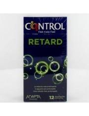 Preservativos control adapta retard 12 unidades