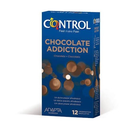 Preservativos control adapta sex chocolate 12 unidades