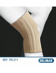 Rodillera orliman elastica flejes tn-211 talla-1