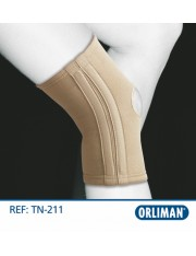 Rodillera orliman elastica flejes tn-211 talla-3