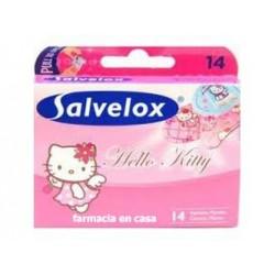 Salvelox apositos adhesivo hello kitty 14 tiritas infantil