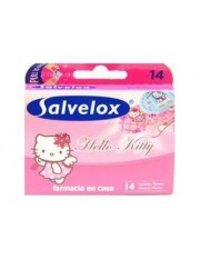 Salvelox apositos adhesivo hello kitty 14 tiritas infantil