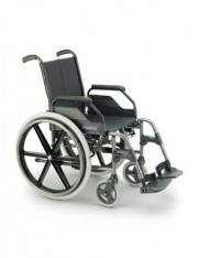 "Silla breezy r/250 asiento 40cm cromo 24"" aire"