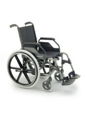 "Silla breezy r/250 asiento 43cm cromo 24"" aire"