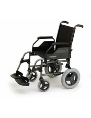 "Silla breezy r/250 asiento de 43cm cromo 12"" aire"