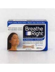 Tiras nasales breathe right color talla grande 30 unidades