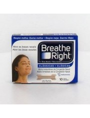 Tiras nasales breathe right s-m 10 unidades